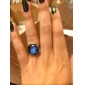 ручная работа галактики кольцо стеклянный купол кабошон Туманность пространство кольцо