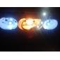 T10 Автомобиль Холодный белый 1,5 Вт SMD 5050 6000Лампа подсвета приборной доски Лампа освещения номерного знака Габаритные огни Лампы