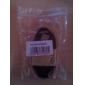 Micro USB к USB между мужчинами кабель для Samsung / Huawei / ZTE / Nokia / HTC черный (1M)