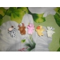 5PCS Forest Animal Plush Finger Puppets Kids Talk Prop(Random Types)