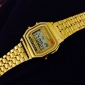 Men's Watch Dress Watch Multi-Function Square Digital LCD Dial Alloy Band  Wrist Watch Cool Watch Unique Watch Fashion Watch