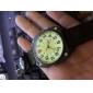 montre toile infanterie quartz tissu sangle en nylon militaire de montres hommes cadran lumineux& montre boussole pointeur