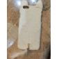 trendy impressão reunindo caso duro com cauda macia e bonito orelhas de rato para iphone 6 mais (cores sortidas)