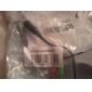 3,5-mm-Buchse auf zwei männliche Audio-Kabel für PC