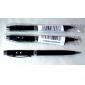 3-en-1 stylo à bille avec deux mode lumière blanche et laser rouge 5mW (3xlr41, encre noire)