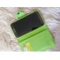 Litchi Pattern PU Case Full Body avec fente pour carte et bouton pression magnétique pour Samsung Galaxy Note N7100 2 (couleurs assorties)