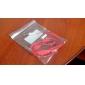3,5 мм между мужчинами аудио соединительный кабель типа Красный плоский (1,5 м)