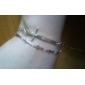 European and American Fan personality Korean fashion punk style metal cross bracelet (random color)