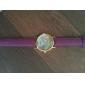 relógio de estilo multicolor impressão bohemia pu pulseira de couro analógico de pulso de quartzo das mulheres (cores sortidas)
