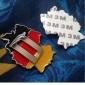 Merdia Decoration 3D PVC автомобильныйbon Fiber Film Wrap Sticker для автомобильный- черный (50 x 20cm)