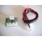 Мини цифровой 3W +3 W Модуль усилителя совета (Зеленый)