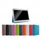 용 삼성 갤럭시 케이스 스탠드 / 플립 / 오리가미 케이스 풀 바디 케이스 단색 인조 가죽 Samsung Tab 3 10.1