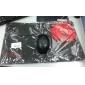 ajazz первая кровь профессиональный коврик игровой мыши (41.5x25x0.2cm)-черный