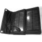 7w saída usb dobrável carregador de bateria solar para iphone6 / 6plus / 5s / 5 HTC e outros dispositivos móveis samsung s4