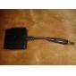 ps2 на ps3/pc контроллер преобразователя адаптер (черный)