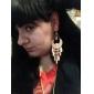 여성용 드랍 귀걸이 의상 보석 스테이트먼트 쥬얼리 페스티발/홀리데이 레진 합금 보석류 보석류 제품 파티 일상