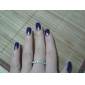 Ring Party / Daily / Casual Jewelry Zircon / Silver Plated Women Statement Rings6 / 7 / 8 Transparent / Silver