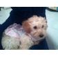 Cães Vestidos Azul / Púrpura Roupas para Cães Primavera/Outono Xadrez
