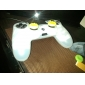 Luminous Silicone Skin Case for PS4 Controller (White)