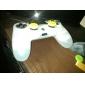 Световой силиконовая кожа случае для PS4 Controller (белый)