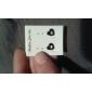 Forme de Coeur Boucles d'oreille goujon Bijoux Cœur Soirée Quotidien Décontracté Alliage Noir