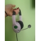 Universal USB mikrofon Headset til PS3 og PC (sort)