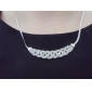Necklace Choker Necklaces Jewelry Wedding / Party / Daily Fashion Alloy / Rhinestone Gold 1pc Gift