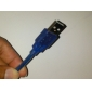 USB Male to Mini USB Male Cable for Samsung (20cm)