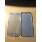 터치 스크린 TPU 아이폰 6 / 6S 투명 풀 바디 케이스 (모듬 된 색상)