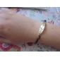Charm Bracelet Fashion Alloy Golden Leaf s Double Layer Adjustable Leather Bracelet Friendship Jewelry  Christmas Gifts