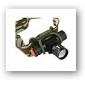 3-modus 400lm fokus justerbar Cree XR-e Q5 LED hodelykt (1x14500)