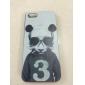 beau modèle de panda couverture arrière étui rigide pour iPhone 5 / 5s