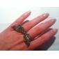 Bisykliset Zircon Angel Wings Ring (Assorted Color)