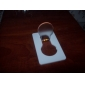 Novelty Credit Card Design Bulb Shaped Yellow LED Light (1xCR1216)