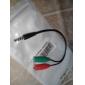 3,5 мм стерео 4-положение вилки до 3,5 мм микрофон& разъем для наушников для iphone звуковой адаптер