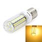 4W E26/E27 LED Corn Lights T 56 SMD 5730 400-450 lm Warm White / Cool White AC 220-240 V 5 pcs