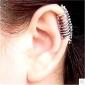 귀걸이 Skull shape 귀는 보석류 Halloween / 결혼식 / 파티 / 일상 / 캐쥬얼 합금 여성 실버