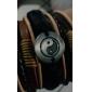 Homme Charmes pour Bracelets Bracelets en cuir Original Mode bijoux de fantaisie Cuir Bijoux Bijoux Pour Quotidien Regalos de Navidad