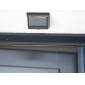 4 LED 태양 PIR의 Montion 감지기 빛 벽 마운트 야외 정원 문 게이트 램프