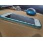 Pour Coque iPhone 5 Lampe LED Allumage Auto Transparente Coque Coque Arrière Coque Couleur Pleine Dur Polycarbonate pour iPhone SE/5s/5