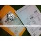 """5 centimetri in lega di alluminio """"D"""" Hook pattern (colori casuali)"""
