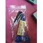 Repair LCD Front Screen Glass Lens Part with 3M Sticker and Tools for iPhone 4 (Assorted Colors)