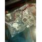화이트 플라스틱 PC의 섀시 냉각 팬 (4cm) ECS003243