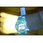 Детская Многофункциональный Круглый циферблат Камуфляж Резиновая лента ЖК-цифровой наручные часы (разных цветов)