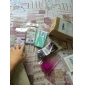 Custodia rigida, con fiore e cuore incisi, in Pc verde menta, per iPhone 5/5S