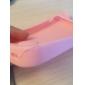 novo caso macio 3d orelhas de gato de silicone para iPhone 4 / 4S