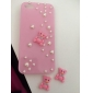 For iPhone 5 Case Shockproof / Embossed Case Back Cover Case 3D Cartoon Hard PC iPhone SE/5s/5