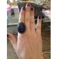 Кольца Для вечеринок Повседневные Бижутерия Сплав Драгоценный камень Женский Массивные кольца 1шт,Регулируется серый