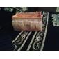 dobrável cosméticos quadradas suporte de armazenamento de caixa de maquiagem escova cosméticos pote organizador (3 cores para escolher)