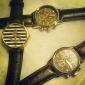 Mulheres Relógio de Moda Quartzo PU Banda Preta